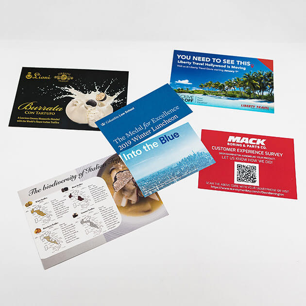 Custom Printed Postcards